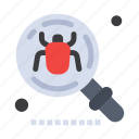 antivirus, bug, find, insect, search