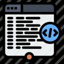 code, coding, html, website, window