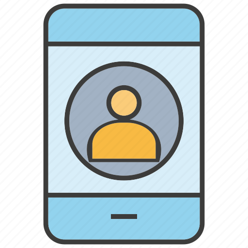 communicate, mobile, people, phone, smart phone icon