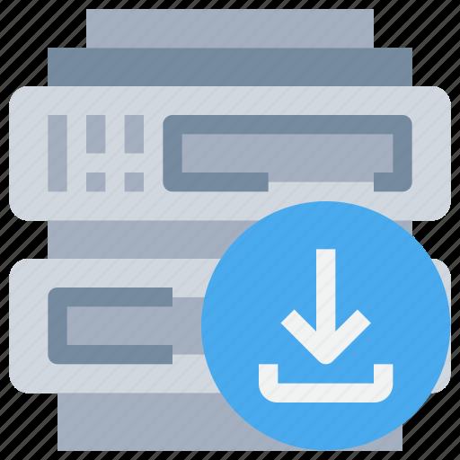 data, database, hosting, network, server icon