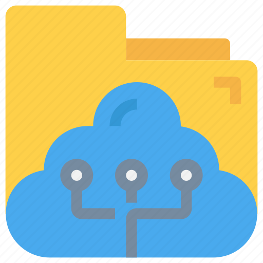 Cloud, data, document, folder, network icon - Download on Iconfinder