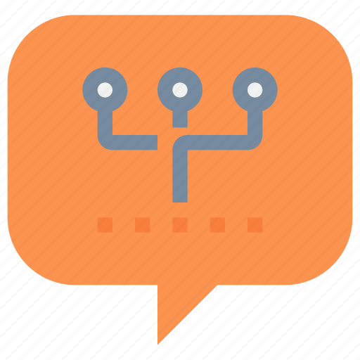 chat, communication, connect, media, network, social, talk icon