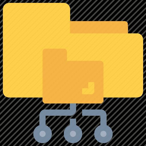 Cloud, data, folder, network, storage icon - Download on Iconfinder