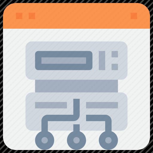 Connect, data, hosting, network, server icon - Download on Iconfinder