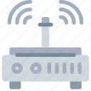 connect, connection, device, internet, office, rounter icon