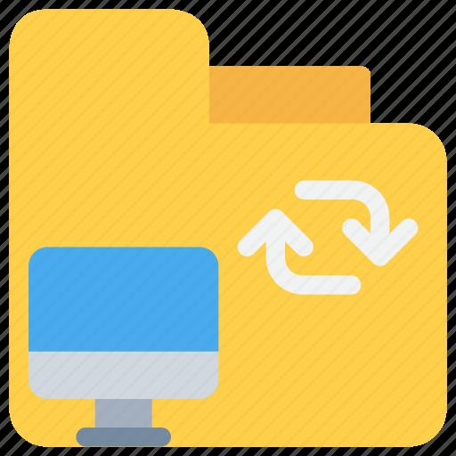 data, database, document, exchange, folder icon