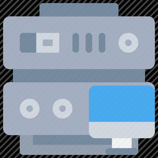 computer, data, database, server, technology, web icon