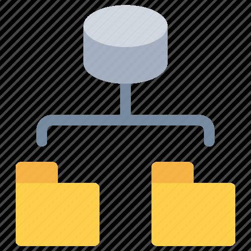 connect, data, database, network, stoage icon