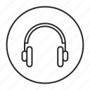 audio, headphone, music, sound