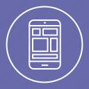 desktop, devices, mobile, responsive icon