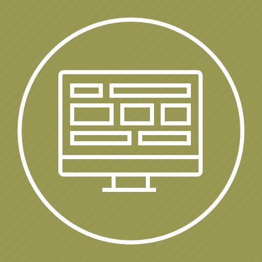 design, template, web, website icon