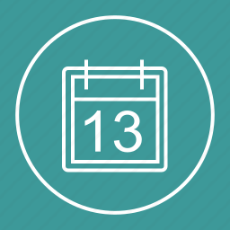 date, event, month, schedule icon