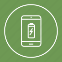 battery, device, full, mobile, phone icon