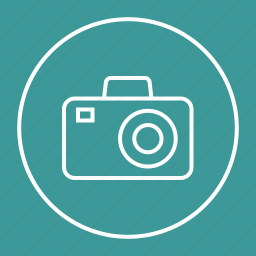 photo, photography, picture, video icon
