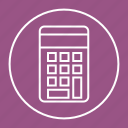 calculate, calculator, math, mathematics icon