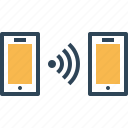 communication, connectivity, mobile, network, to, wireless icon