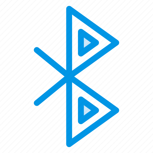 blue, bluetooth, computer, connection, signal, tooth, wireless icon