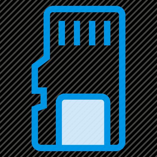 card, data, memory, memorycard, mini, sd, storage icon