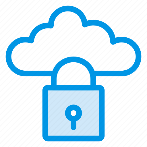 cloud, cloudsecurity, computing, lock, locked, protect, security icon
