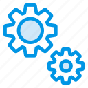 cogwheel, config, gear, options, setting, tools, working