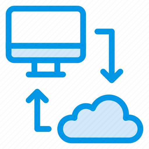 cloud, cloudnetwork, computing, connection, internet, network, sync icon