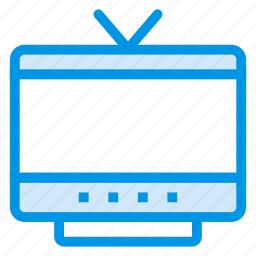 device, display, movie, technology, television, tv, watch icon