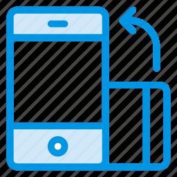 auto, interface, locked, mobile, phone, rotate, rotation icon