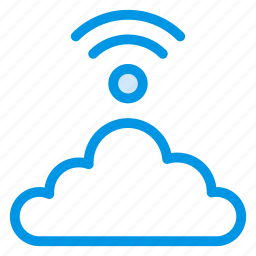 cloud, internet, network, signal, technology, wifi, wireless icon