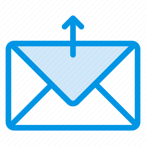 archivie, backup, email, envelope, letter, mail, upload icon
