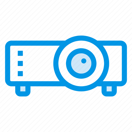 cinema, device, display, media, projector, technology, theatre icon