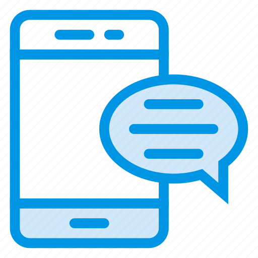 chat, device, message, messenger, mobile, sms, talk icon