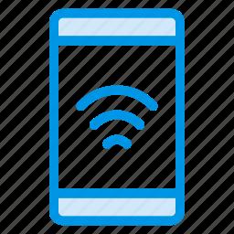communication, device, mobile, mobileinternet, signals, tablet, wifi icon