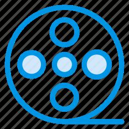 album, film, movie, photo, photography, reel, video icon