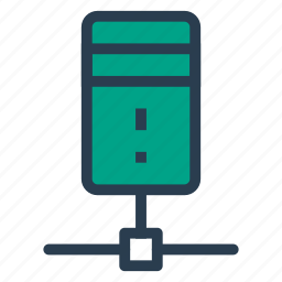 connection, data, database, network, server, share, storage icon