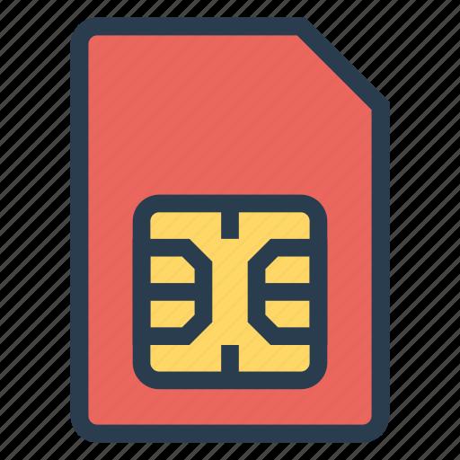 card, chip, gsm, gsmcard, mobile, sim, simcard icon