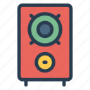 audio, control, multimedia, music, sound, speaker, volume icon