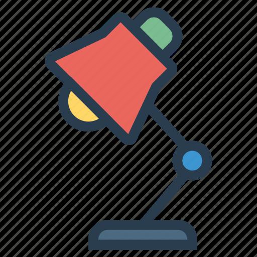 bulb, desklamp, electronic, lamp, light, lighting, tablelamp icon