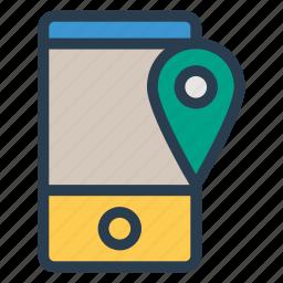 gps, locate, location, pin, pointer, radar, satellite icon