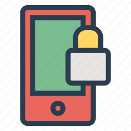 interface, lock, mobile, mobilelock, mobilesecurity, security, smartphone icon