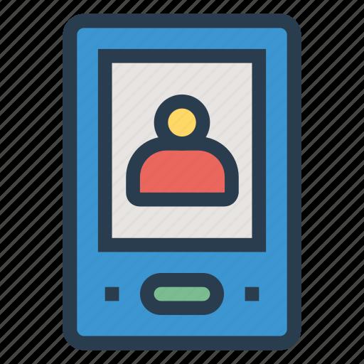 avatar, data, login, mobile, mobileprofile, smartphone, user icon