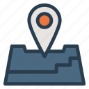 business, direction, location, map, marker, marketing, navigation icon