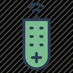 control, device, entertnment, key, media, remote, tvcontrol icon