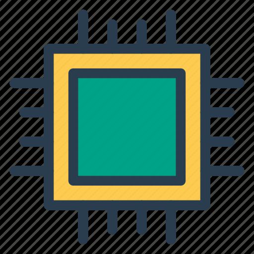 computer, cpu, desktop, multimedia, pc, proceesor, technology icon