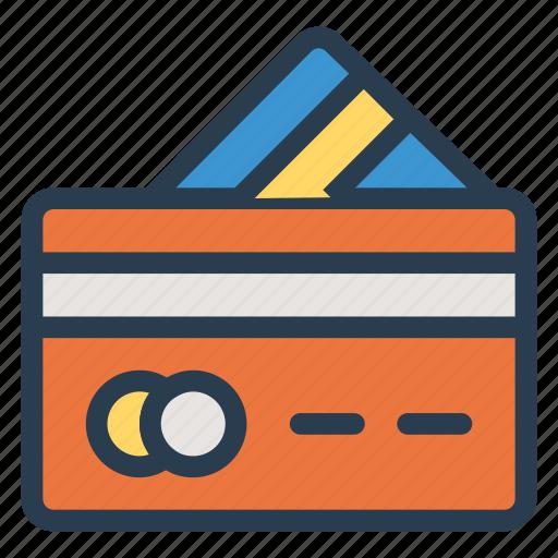 atmcard, card, cash, credit, debit, money, payment icon