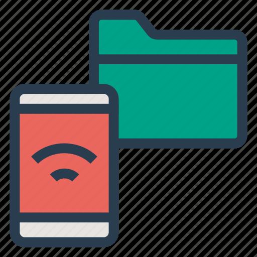 data, datashare, folder, gallery, mobiledata, phone, share icon