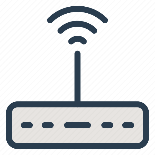 connect, device, electronic, router, signal, wifi, wireless icon