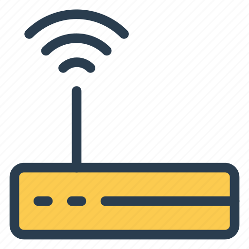 connection, device, electronic, router, signal, wifi, wireless icon