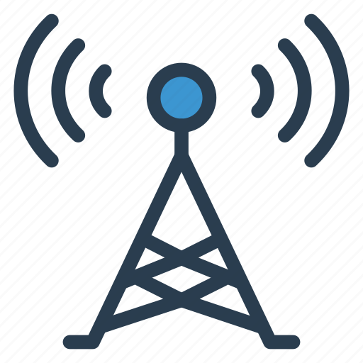 antenna, device, internet, signal, technology, tower, wifi icon