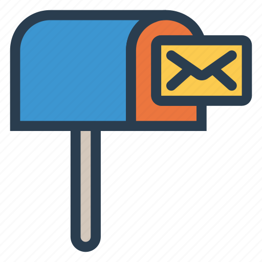 box, email, inbox, mail, parcel, postal, postbox icon