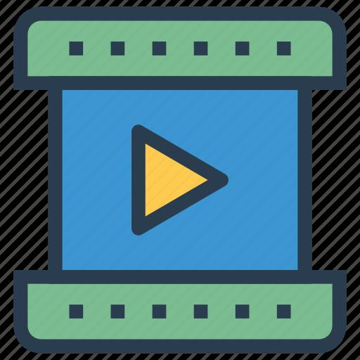 action, cinema, film, media, movie, theater, video icon